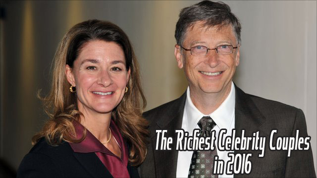 Richest Celebrity couples in 2016